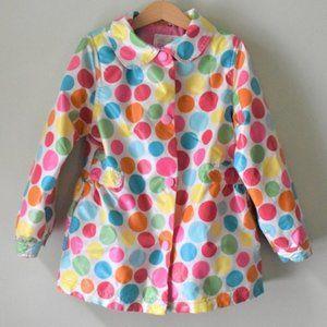 OshKosh B'gosh Polka Dot Rain Jacket